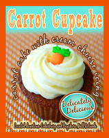 SB Carrot Cupcake orange border